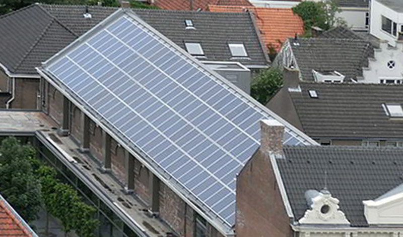 B&B-Tilburg Cinecitta on solar-power
