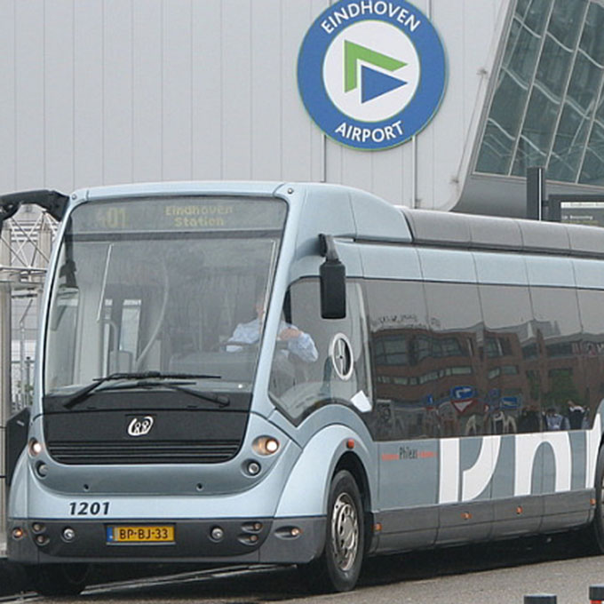 B&B-Tilburg Phileas Bus connection Eindhoven Airport Central Tran station