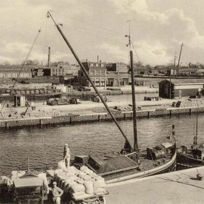 B&B-Tilburg Piushaven historie 1930