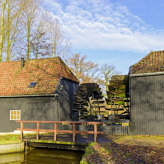 B&B-Tilburg, De Collse Watermolen as it looks today