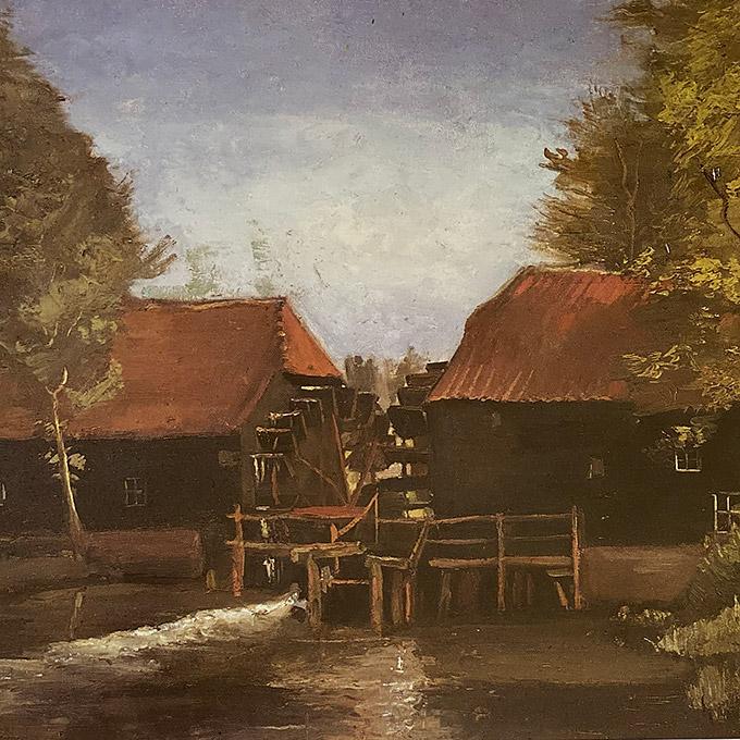 B&B-Tilburg, De Collse Watermolen, Vincent van Gogh