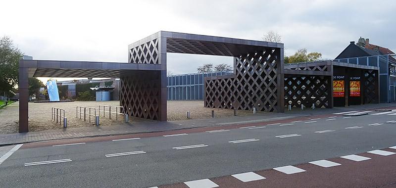 B&B-Tilburg De Pont Museum Entree building