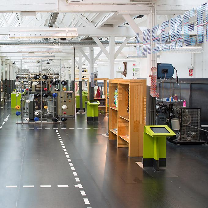 B&B-Tilburg Textiel Lab - Textielmuseum overview