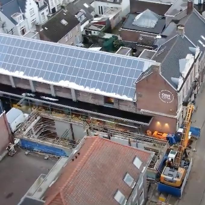 B&B-Tilburg Cinecitta new extension