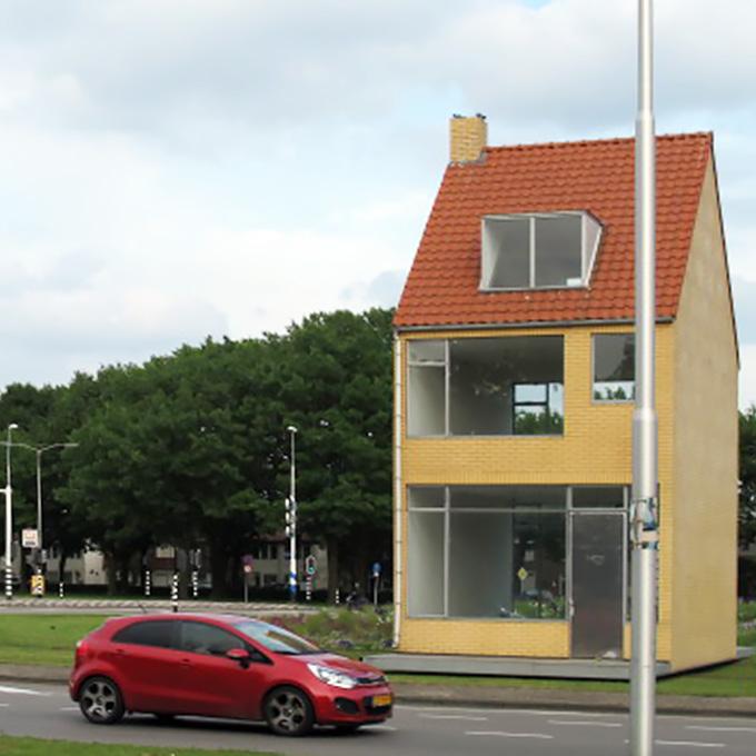 B&B-Tilburg Draaiend Huis John Körmeling