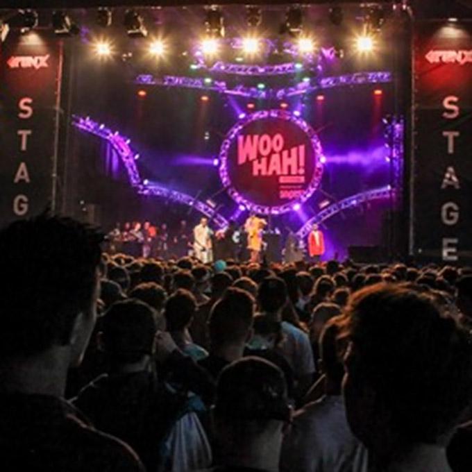 B&B-Tilburg WooHah main stage impression