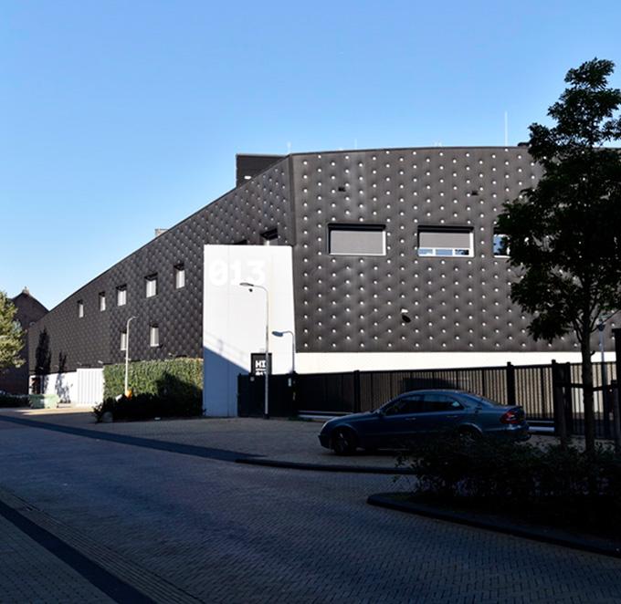 B&B-Tilburg Popcentrum 013 nieuw laaddock
