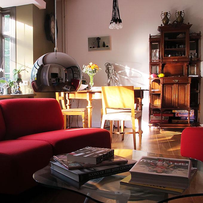 B&B-Tilburg kijkje in de gastensalon