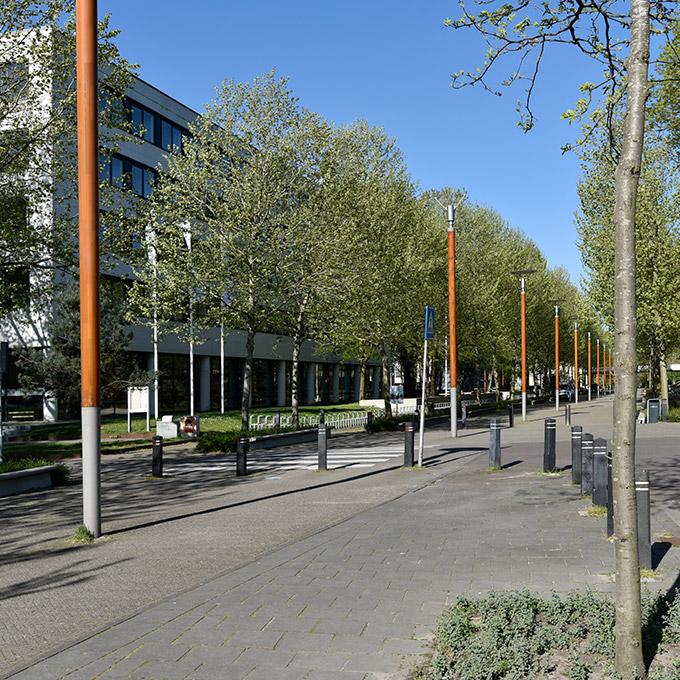 B&B-Tilburg University-Central lane