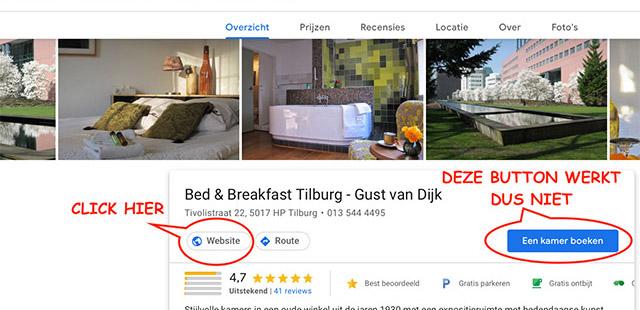 B&B-Tilburg Kies de juiste knop