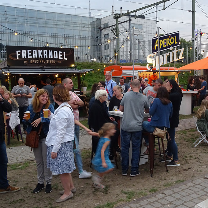 B&B-Tilburg Smaakkaravaan festival Spoorzone