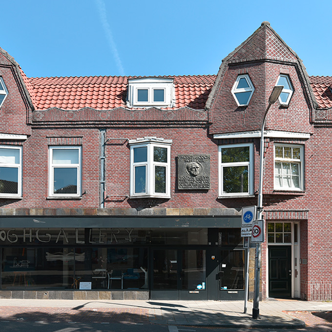 B&B-Tilburg, plaque in memory Vincent van Gogh