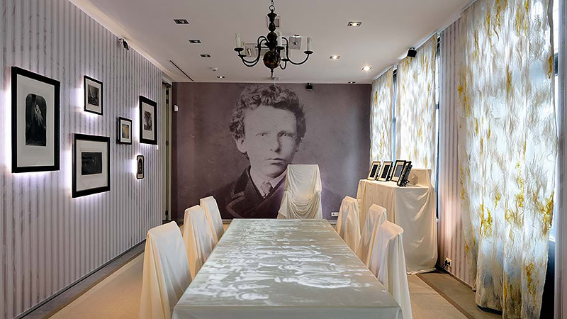 B&B-Tilburg, Van Gogh Huis Zundert permanent exhibition on the younger years of Vincent van Gogh